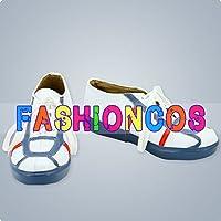 ★サイズ選択可★女性22CM UA1635 IS 〈インフィニット・ストラトス〉 シャルロット・デュノア コスプレ靴 ブーツ