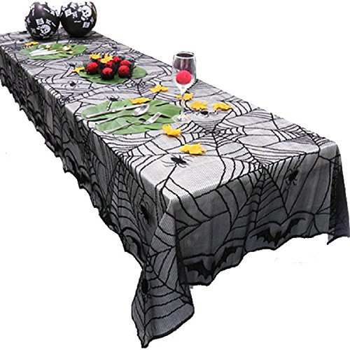 Gold butterfly@ハロウィンパーティー小道具恐ろしい屋内食卓の装飾ブラックレースバット