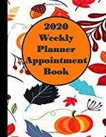 2020 Weekly Planner Appointment Book