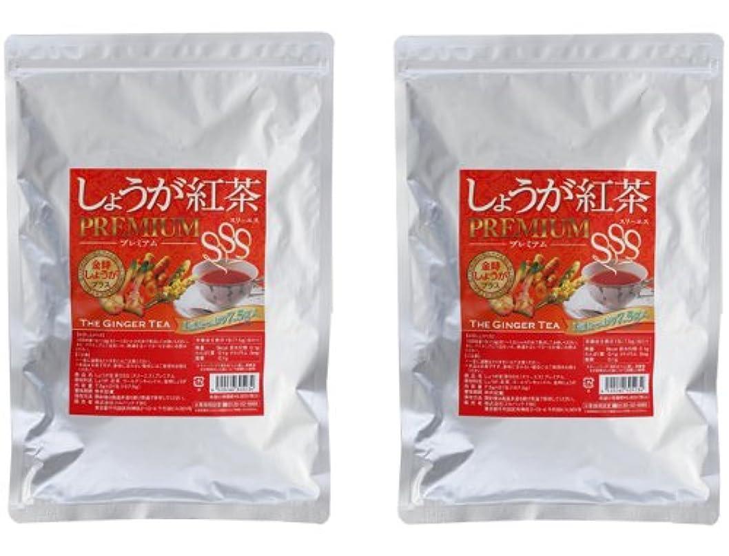 秘密のほこり最初はしょうが紅茶プレミアムSSS 2個セット(金時生姜紅茶ダイエットティー)
