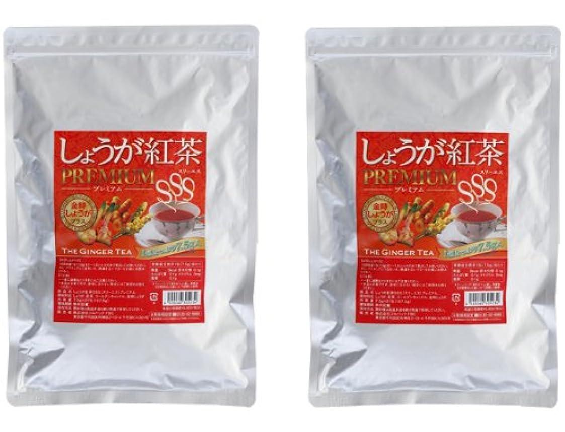 湾ガイダンスアイザックしょうが紅茶プレミアムSSS 2個セット(金時生姜紅茶ダイエットティー)