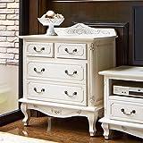アンティーク調クラシック家具シリーズ チェスト・幅75cm 508630(サイズはありません イ:ダークブラウン)