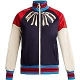 (グッチ) Gucci レディース アウター ジャージ Bow-applique zip-through jersey track top [並行輸入品]