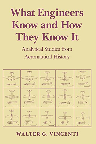 Download What Engineers Know and How They Know It: Analytical Studies from Aeronautical History (Johns Hopkins Studies in the History of Technology) 0801845882