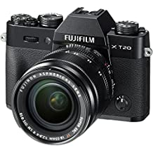 Fujifilm X-T20 Mirrorless Digital Camera w/XF18-55mmF2.8-4.0 R LM OIS Lens - Black
