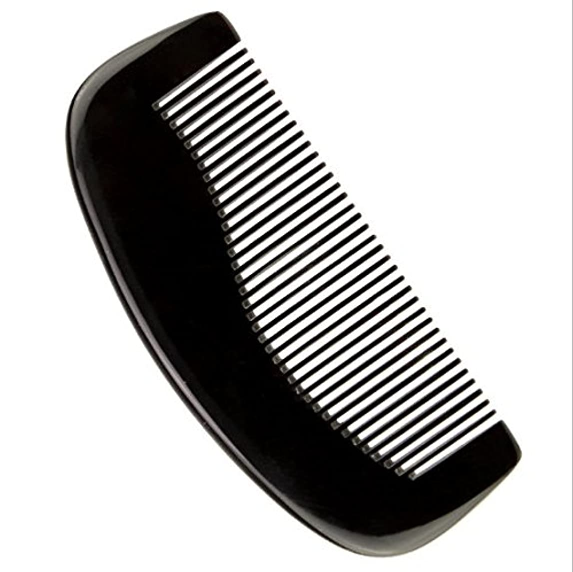 年次バルセロナ理容室櫛型 プロも使う牛角かっさプレート 牛櫛 高級 天然 静電気 防止 美髪 粗歯 櫛型 美顔 ボディ リンパマッサージ