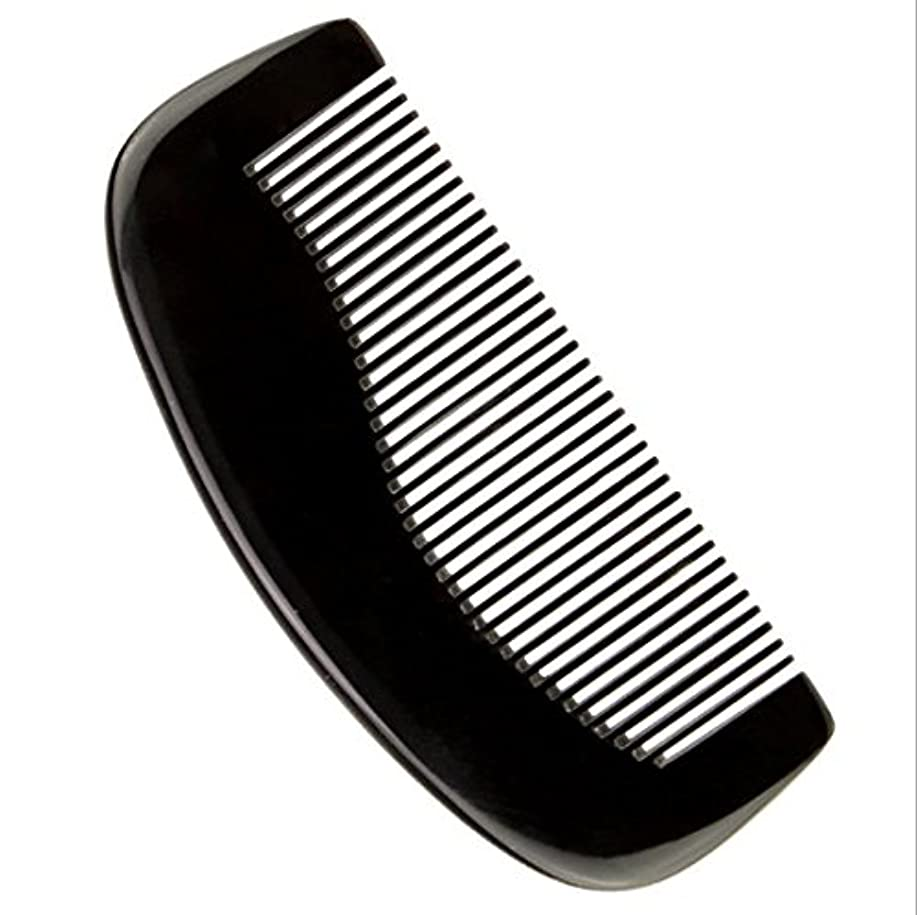 ブッシュやがてプラスチック櫛型 プロも使う牛角かっさプレート 牛櫛 高級 天然 静電気 防止 美髪 粗歯 櫛型 美顔 ボディ リンパマッサージ