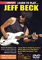 Learn to play Jeff Beck [2 DVDs]