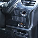 トヨタ ノア/ヴォクシー/エスクァイア80系 インパネアンダーパネル カラー:黒木目 [T198]