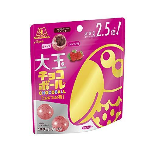 大玉チョコボール つぶつぶ苺 10個