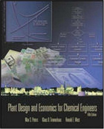 Download Plant Design and Economics for Chemical Engineers (McGraw-Hill Chemical Engineering Series) 0072392665