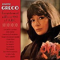 Juliette Gréco, enregistrement public en 1962 à l'A.B.C.