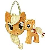 マイリトルポニー アップルジャック ポニーテールキャリア&ポニー My Little Pony Applejack Pony Tail Carrier & Pony ぬいぐるみ フィギュア 人形 おもちゃ 《並行輸入》