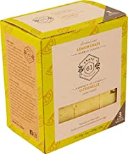 Crate 61 Lemongrass Soap 3 pack, 100% Vegan Cold Process, scented with premium essential oils, for men and wom