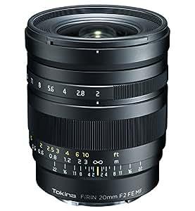 Tokina 単焦点レンズ FíRIN 20mm F2 FE MF ソニーαE用 フルサイズ対応 マニュアルフォーカス