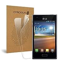 Celicious Vivid LG Optimus L5 E610用の目に見えないスクリーンプロテクター [2枚入り]