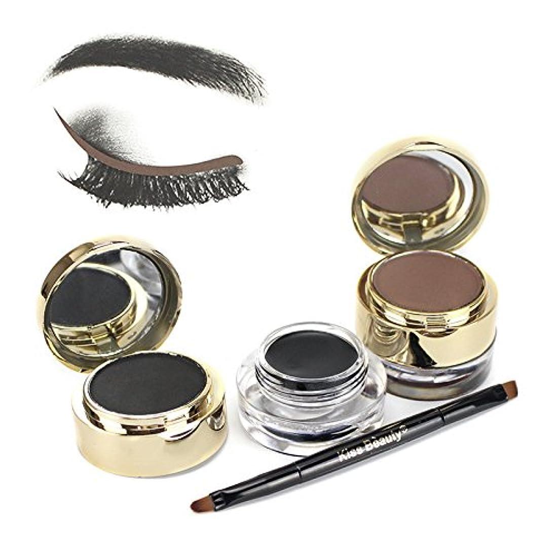 キャプション主移行二重色の化粧品の粉の煙のようなアイシャドウパレットの構造の一定の目
