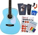 アコースティック・ギター アコギ 初心者 12点セット Legend FG-15 スタートセット アコギ 入門 MABL [98765]