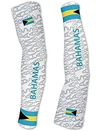 バハマScudoPro Compression Arm Sleeves UV保護ユニセックス – Walking – サイクリング – Running – ゴルフ – 野球 – バスケットボール