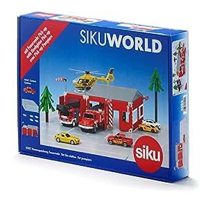 ジク (SIKU) SIKU WORLD シティ 消防署のある街 SK5502