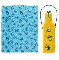 キャラクター ペット 用 犬 猫 クールマット & ボトルケース 2点セット 夏 熱中症 対策 (ミッキー2点セット)