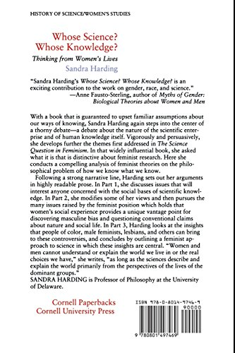 feminism and the standpoint of lesbianism in hardings whose science whose knowledge 10 feminism, science, and technology  standpoint epistemology harding, s (1991) whose science whose knowledge (c) radical feminist epistemology.