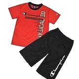 Champion チャンピオン 半袖 Tシャツ&ハーフパンツ ジャージ キッズ ジュニア 男の子 fo-cx1197 160cm レッド