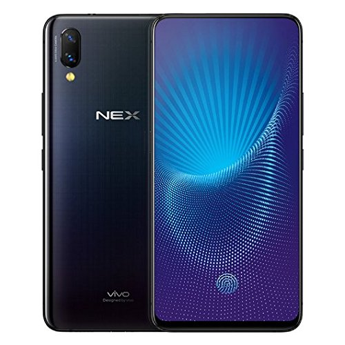 "Vivo Nex Mobile Phone Snapdragon 845 Octa Core 6.59"" OLED Full Screen Auto-elevated Camera 4000mAh Type-C AI HiFi (8G 128GB black flagship)"