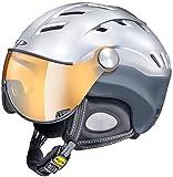 CP(シーピー) スキー ヘルメット CP CAMURAI CRS PSI CPC1604 プラチナサテン×ソフトアイアン L