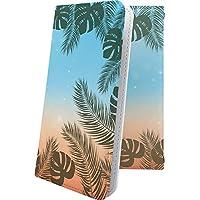 Alcatel PIXI4 手帳型ケース ハワイ 夏 海 ハワイアン ハワイ アルカテル ピクシー イオンモバイル 手帳型ケース ペイズリー ペイズリー柄 pixi 4 南国