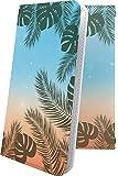 Galaxy S9 SC-02K / SCV38 ケース 手帳型 南国 ハワイアン ハワイ 夏 海 ギャラクシー エスナイン 手帳型ケース ペイズリー ペイズリー..