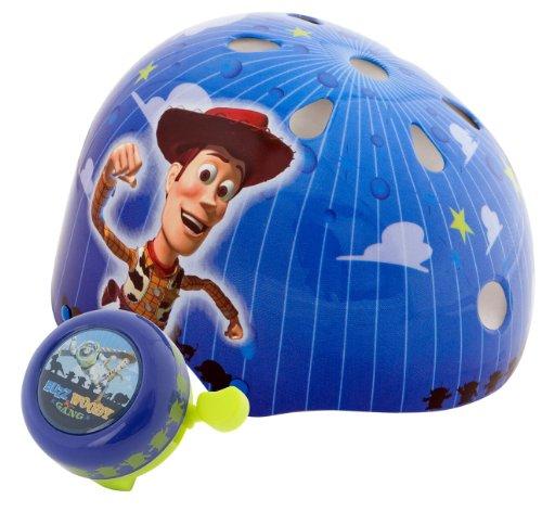 トイストーリー Toy Story 子供用自転車用ヘルメットセット8041