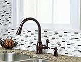 ブリックタイルシール キッチン 洗面所 トイレの模様替えに最適のDIY 壁紙デコレーション LBT-3 グレートーンアップ Gray tone up 【 自作アートインテリア / ウォールステッカー 】