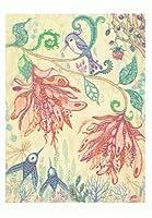 ねこの引出し 林陽子ポストカード「ケルトの森の妖精」シリーズ★flora June