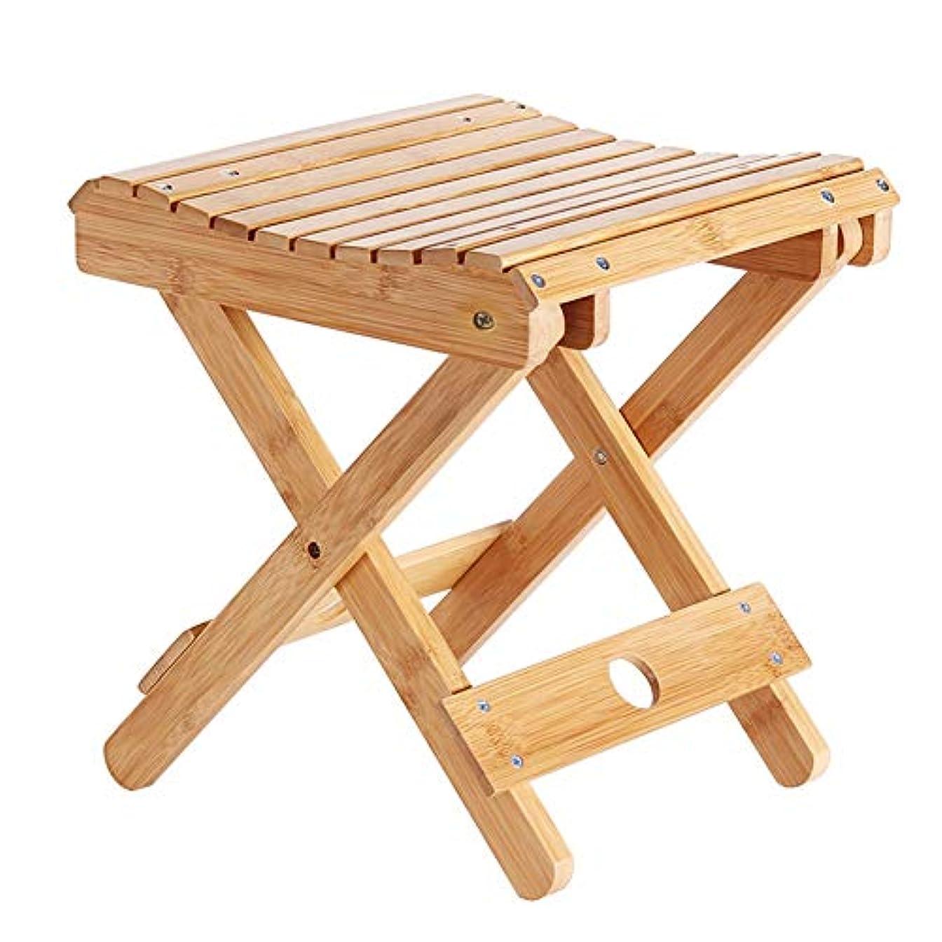 木曜日作家素晴らしいですNEVY 竹アウトドアチェア折りたたみキャンプ椅子コンパクト軽量持ち運び登山釣りハイキング、2サイズ (サイズ さいず : 46.5cm)