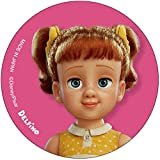 デルフィーノ ディズニー 缶バッジ トイ・ストーリー4 ギャビー・ギャビー DZ-80757