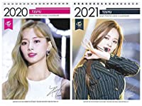 TWICE ツウィ TZUYU 2020-2021年 2年分卓上カレンダー[2020-2021 K-STAR PHOTO DESK CALENDAR 2020-2021]