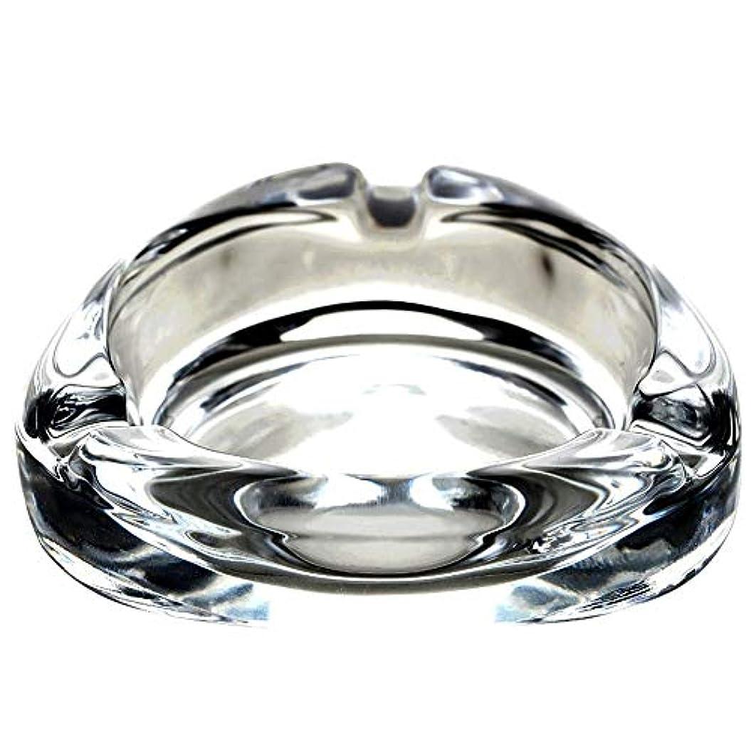 パッケージ貸す請願者クリエイティブ鉛フリーガラス灰皿リビングルームシンプルな人格オフィスギフト装飾ホテル透明灰皿、複数のシーンの切り替えに使用できます