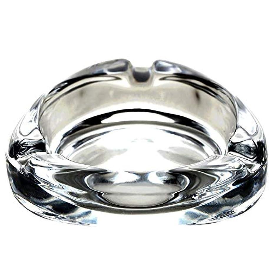 近代化するマオリ決してクリエイティブ鉛フリーガラス灰皿リビングルームシンプルな人格オフィスギフト装飾ホテル透明灰皿、複数のシーンの切り替えに使用できます