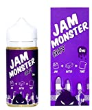 GRAPE 100ml【JAM MONSTER/ジャム モンスター】グレープ 電子タバコ リキッド (グレープ風味) 正規品