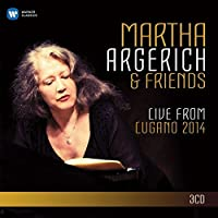 Martha Argerich and Friends Live From The Lugano Festival 2014 (3CD) by Martha Argerich