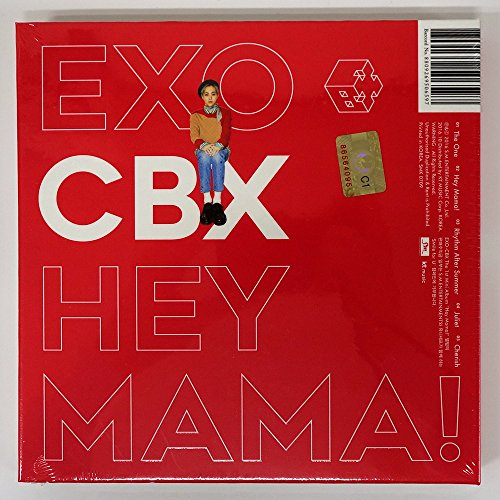 EXO-CBX - Hey Mama! (1st Mini Album) [XIUMIN ver.] CD with Folded Poster [KPOP MARKET特典: 追加特典フォトカードセット] [韓国盤]
