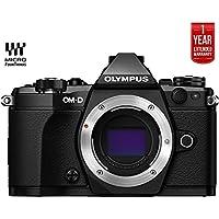 Olympus om-d om - d e - m5Mark II Micro Four Thirdsデジタルカメラボディ(ブラック) v207040bu000–(認定Refurbished) + 1年延長保証