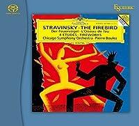 Pierre Boulez: Igor Strravinsky: The Rite Of Spring / The Firebird, ESOTERIC SACD/CD Hybrid ESSG-90118 JAPAN