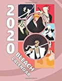 Bleach Calendar 2020: Full Calendar Planner 2020 with Images&Quotes, 8.5' x 11', Anime Calendar 2020, Bleach