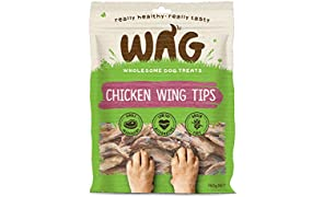 Chicken Wing Tips 750g, Grain Free Natural Australian Made Dog Treat Chew, Rich in Phosphorus for Healthy Bones