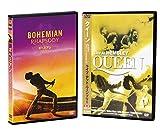 ボヘミアン・ラプソディ (DVD) & クイーン ライブ・アット・ウェンブリー(輸入盤DVD) SET