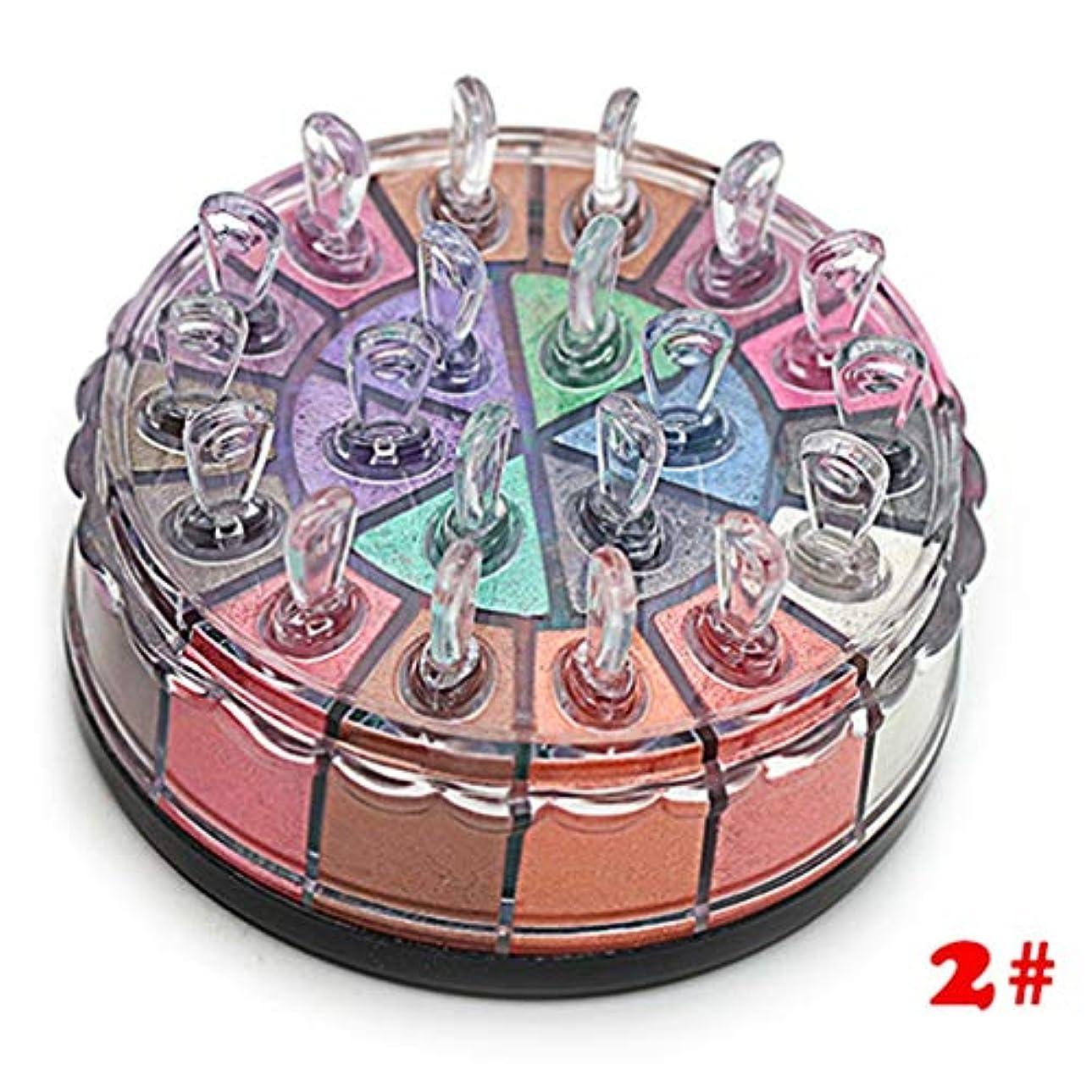 ウェーハマッサージメッセンジャープロフェッショナルカラフルな防水マットアイ化粧品メイクアップアイシャドウパレットをハイライト蛍光ペンパレットのアイシャドウメイクアップ