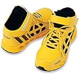 [AITOZ]アイトス TULTEX タルテックス 作業靴 セーフティシューズ マジックタイプ ミドルカット 鋼製先芯 反射材 撥水メッシュ 3E