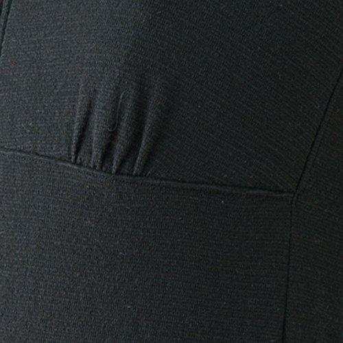 (glamore) グラモア 下着屋さんが作った可愛い和装インナー やさしく補正 FT0058A (L, ブラック)